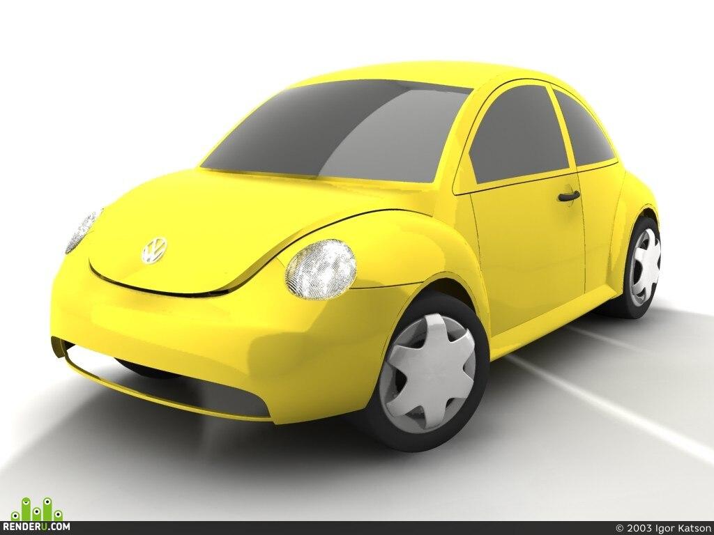preview Volkswagen Beetle