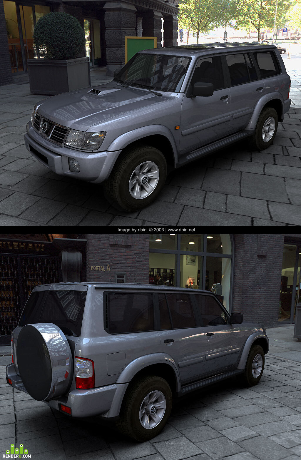 preview Nissan Patrol GR