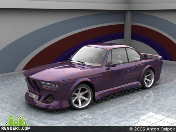 preview BMW2000cs - тюнинг