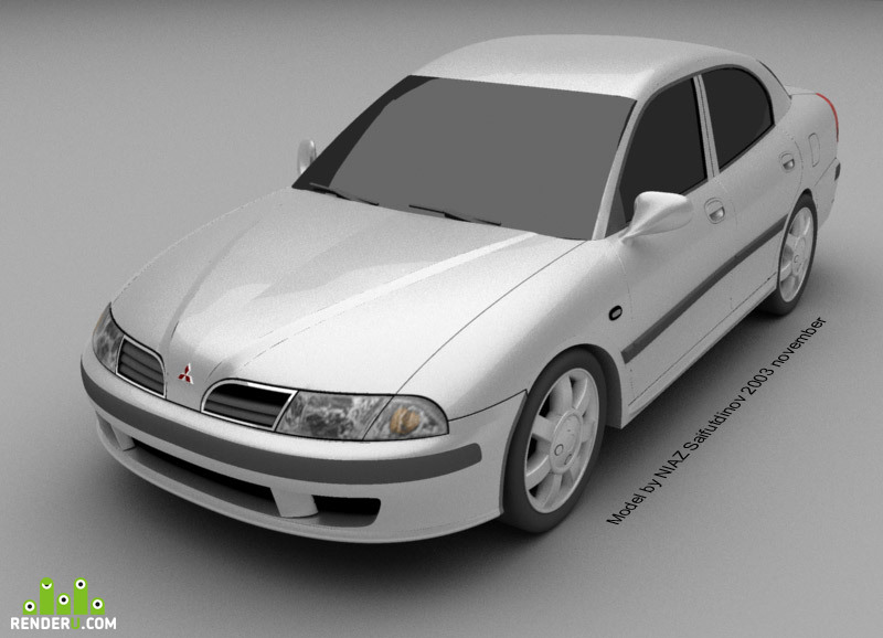 preview Mitsubishi Carisma