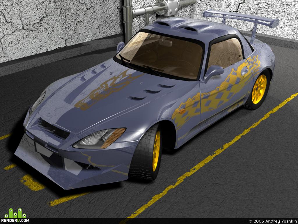 preview Honda S 2000