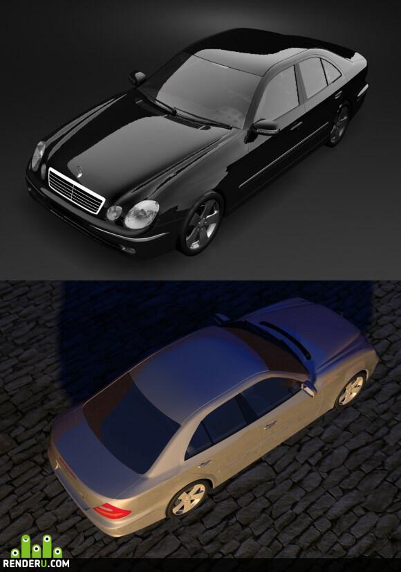 preview Mercedes-Benz E320 W211