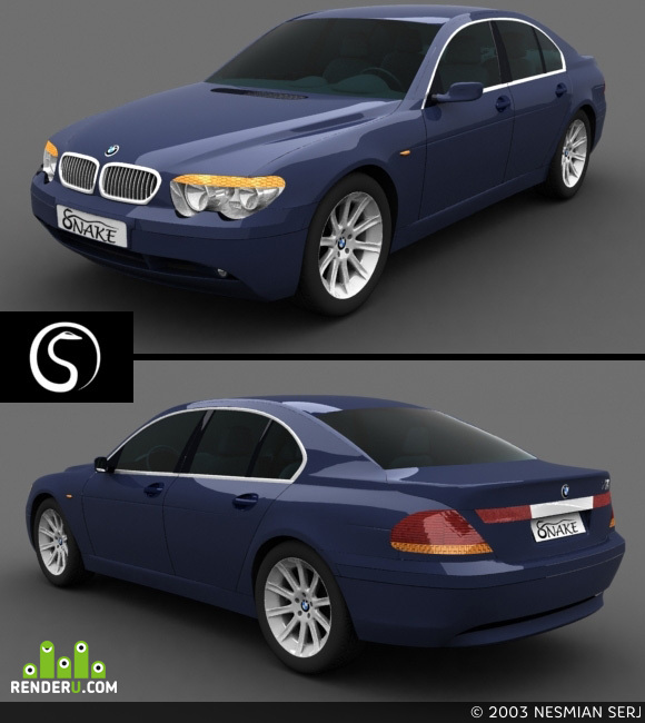preview BMW-740