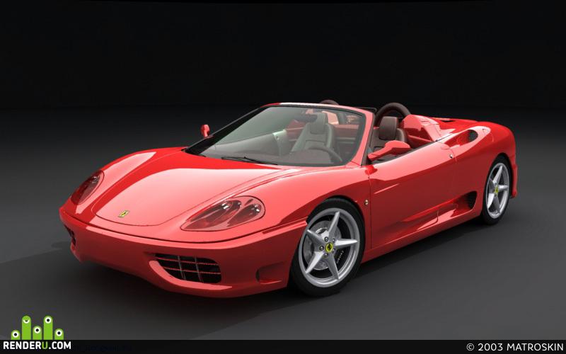 preview Ferrari 360 Spider