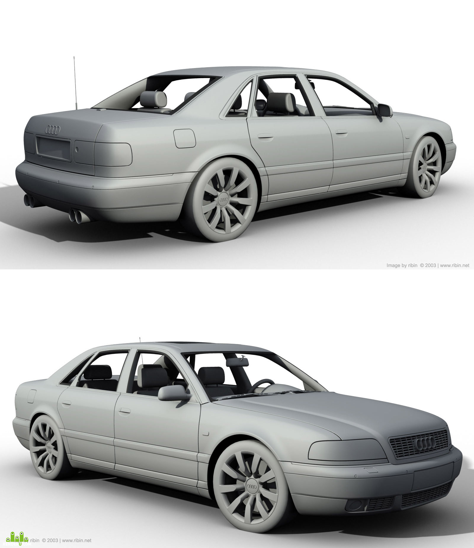 preview Audi S8 1999