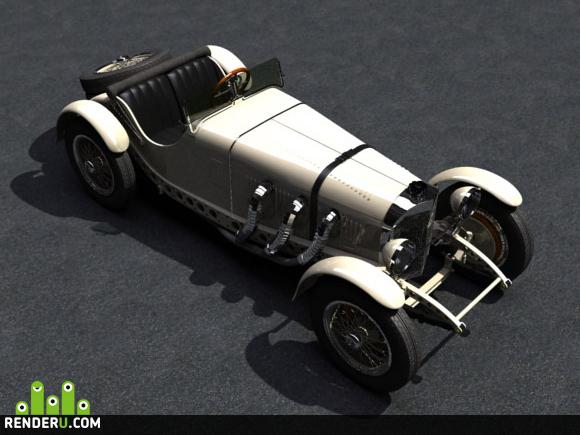 preview Mercedes SSKL 1929