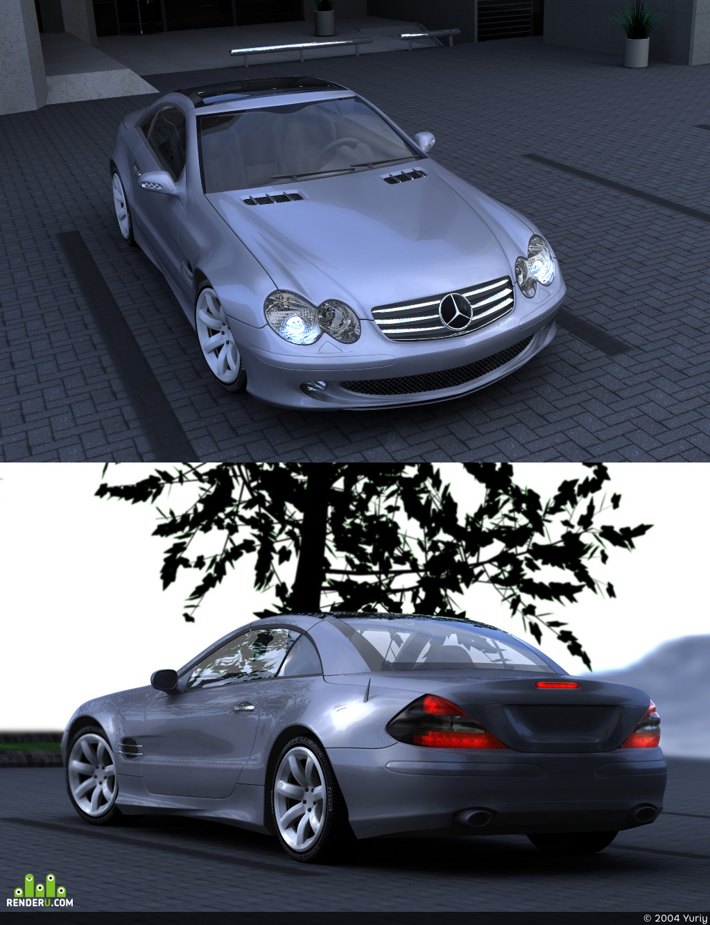 preview Mercedes Benz SL-class f.v.