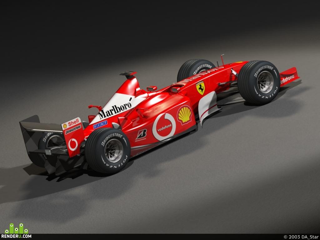 preview Ferrari F1 2003