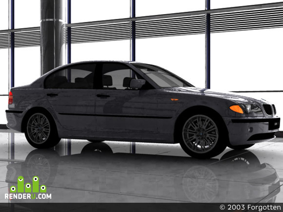 preview BMW3 (e-46) 2001 restyle