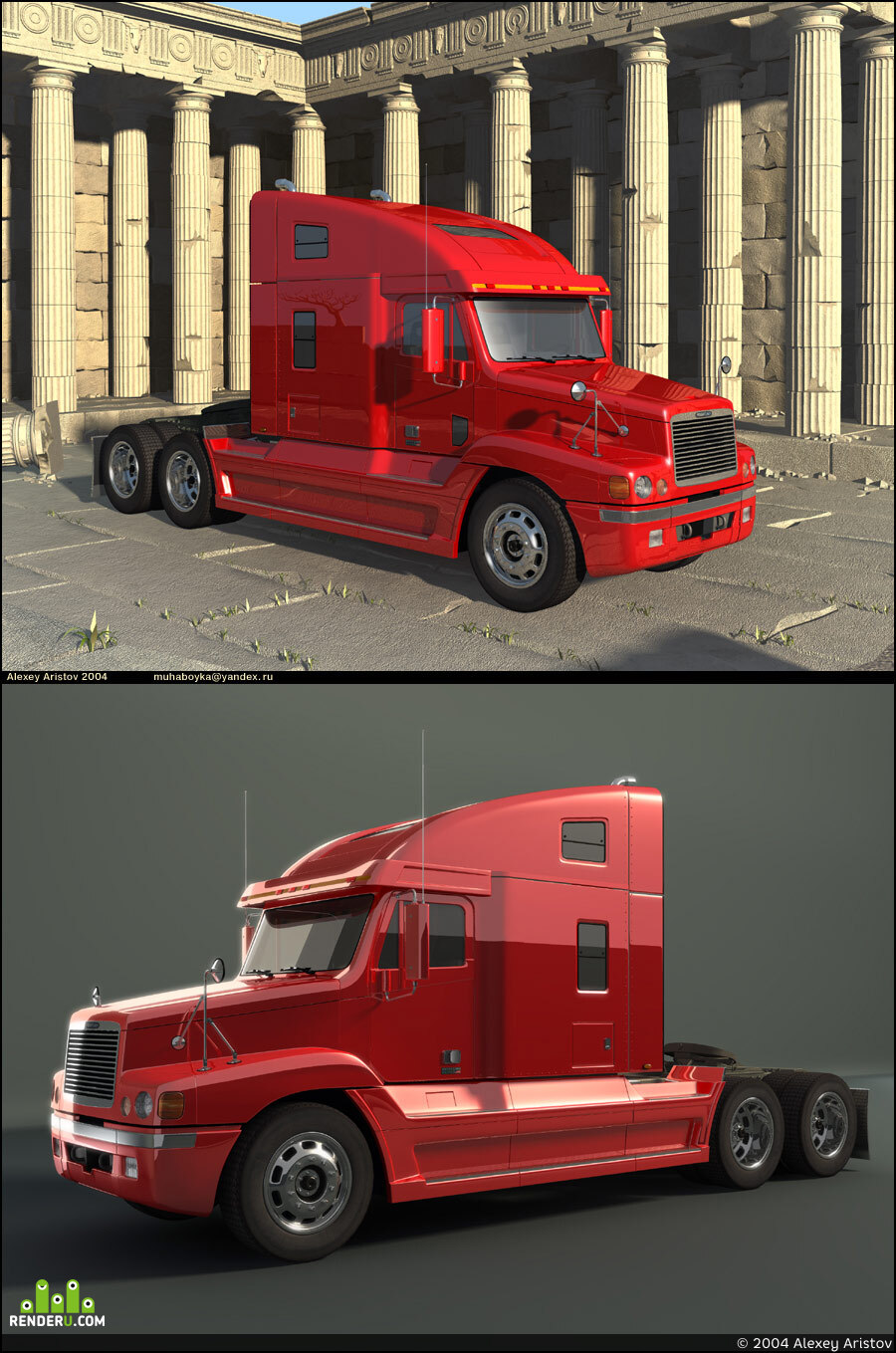 preview Freightliner Century Class S/T
