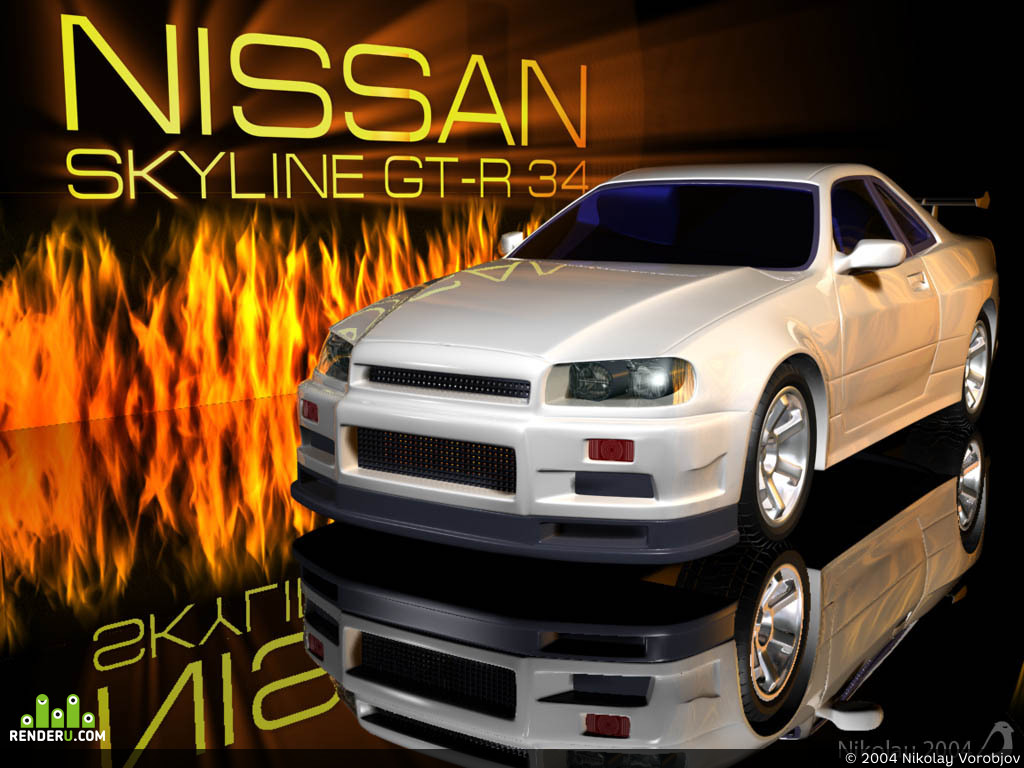 preview Nissan Skyline GT-R 34
