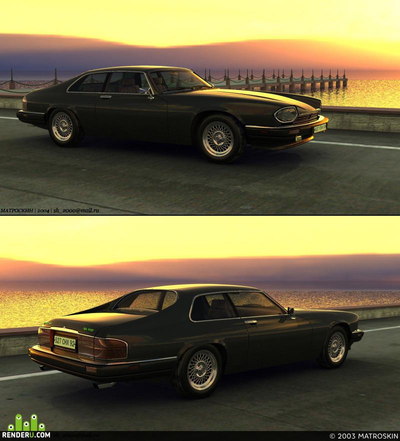 preview Jaguar XJS V12