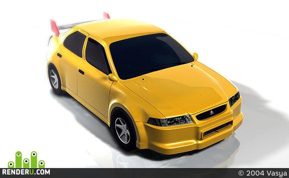 preview Mitsubishi Lancer Evolution