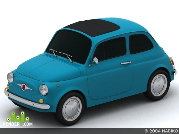preview Fiat 500(1957)