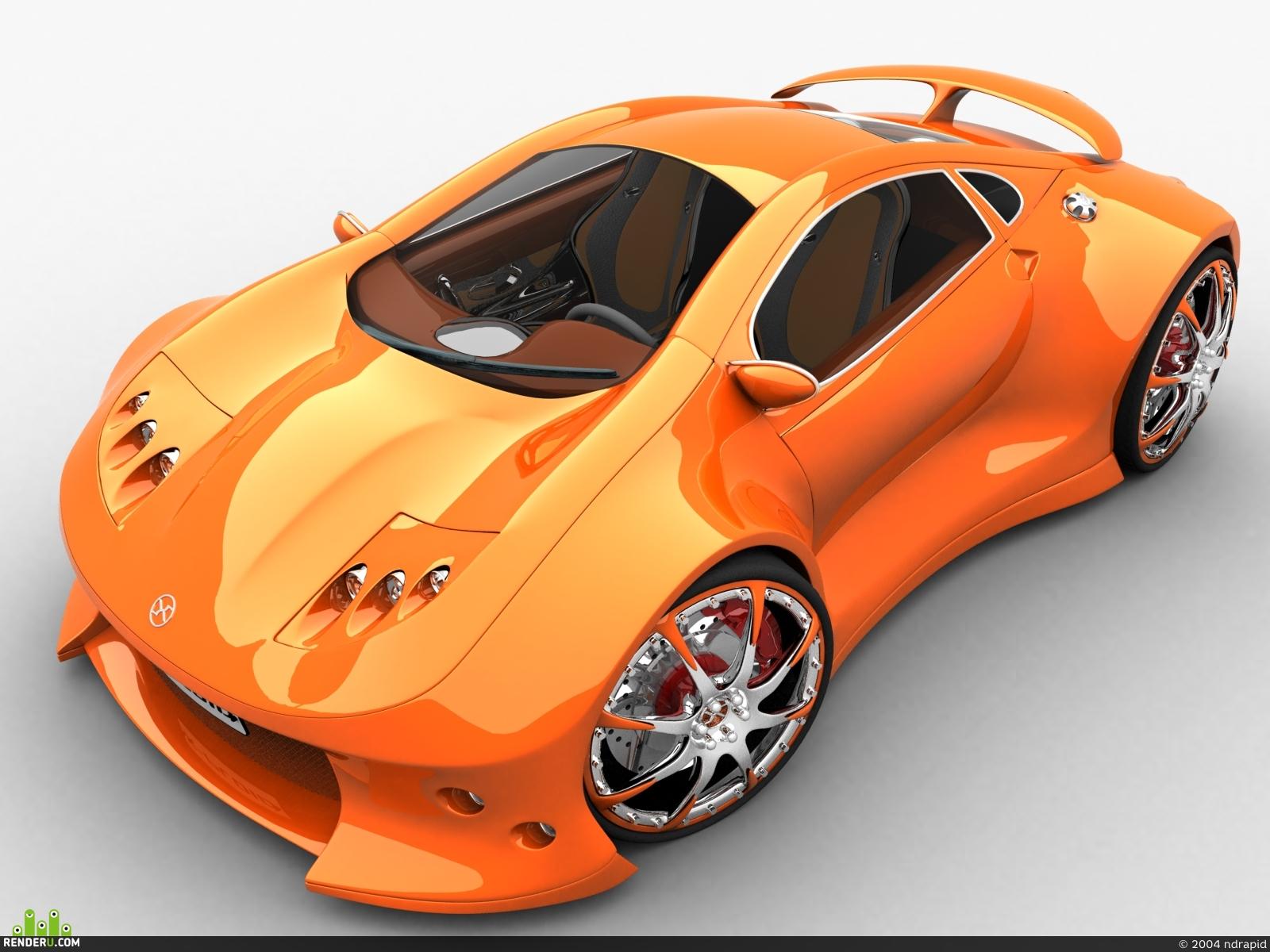 preview x-ploid car