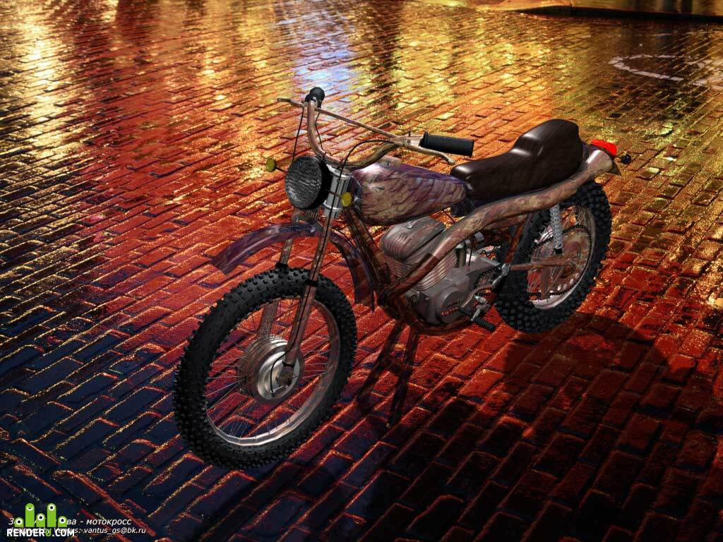 "preview Mototsikl ""YAva-motokross"""