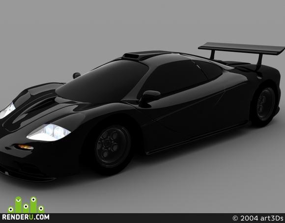 preview Speed_CAR- Mclaren LM1
