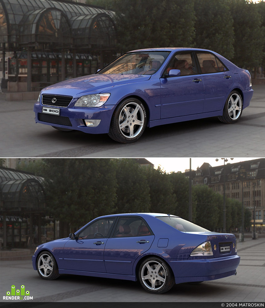 preview Lexus IS200