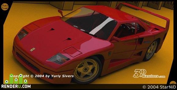 preview Ferrari F-40