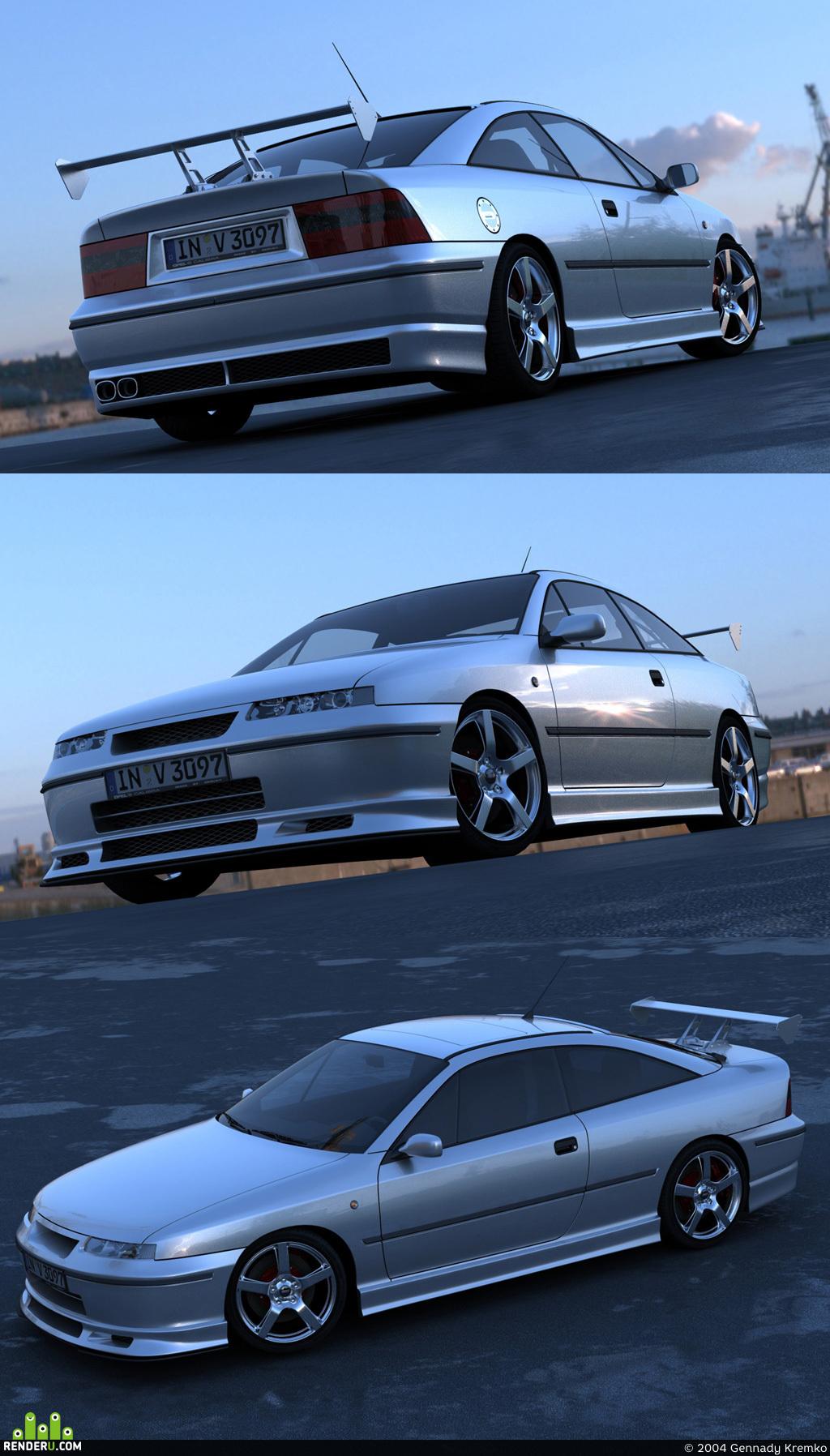 preview Opel Calibra