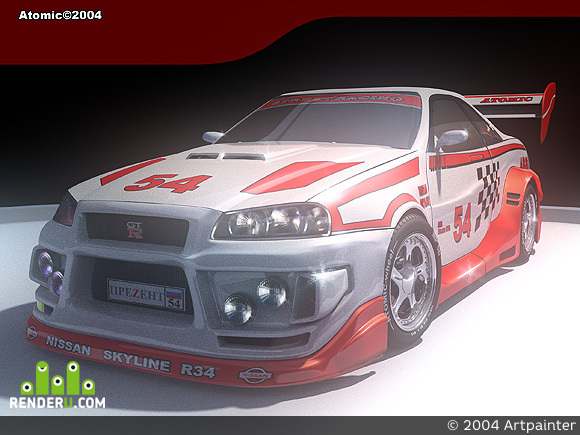 preview Nissan Skyline GTR34