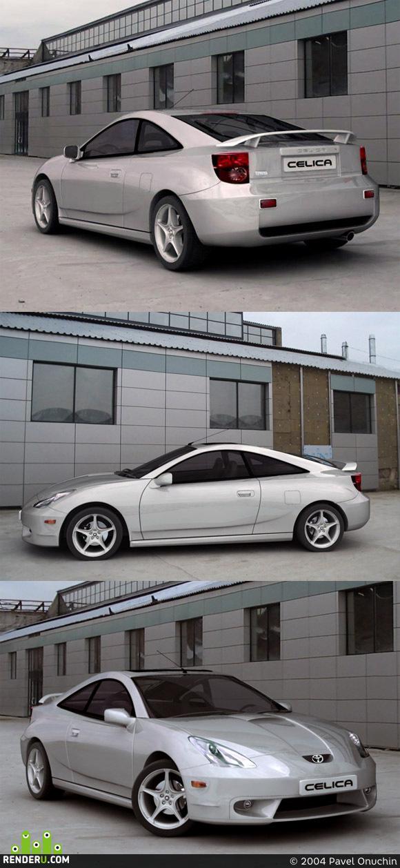 preview Toyota celica