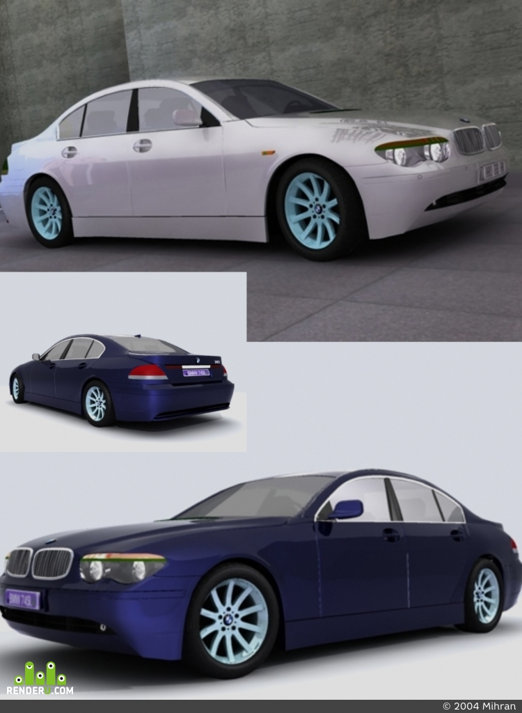 preview BMW 745i