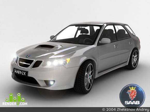 preview saab 9-2x