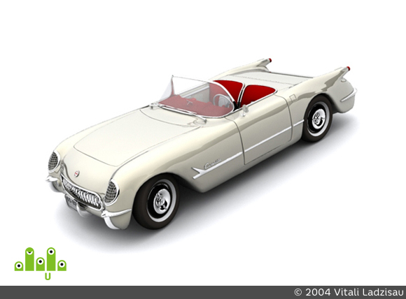 preview Chevrolet Corvette 1953