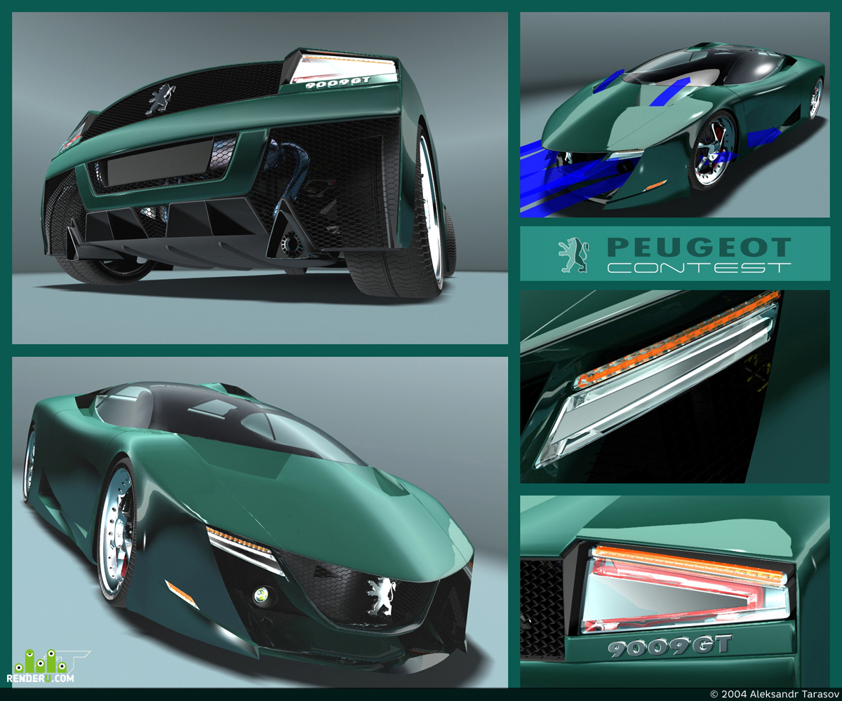 preview Peugeot 9009GT