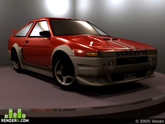preview Toyota Sprinter Trueno (tuning)