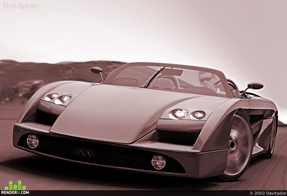 preview Elva Spider GT