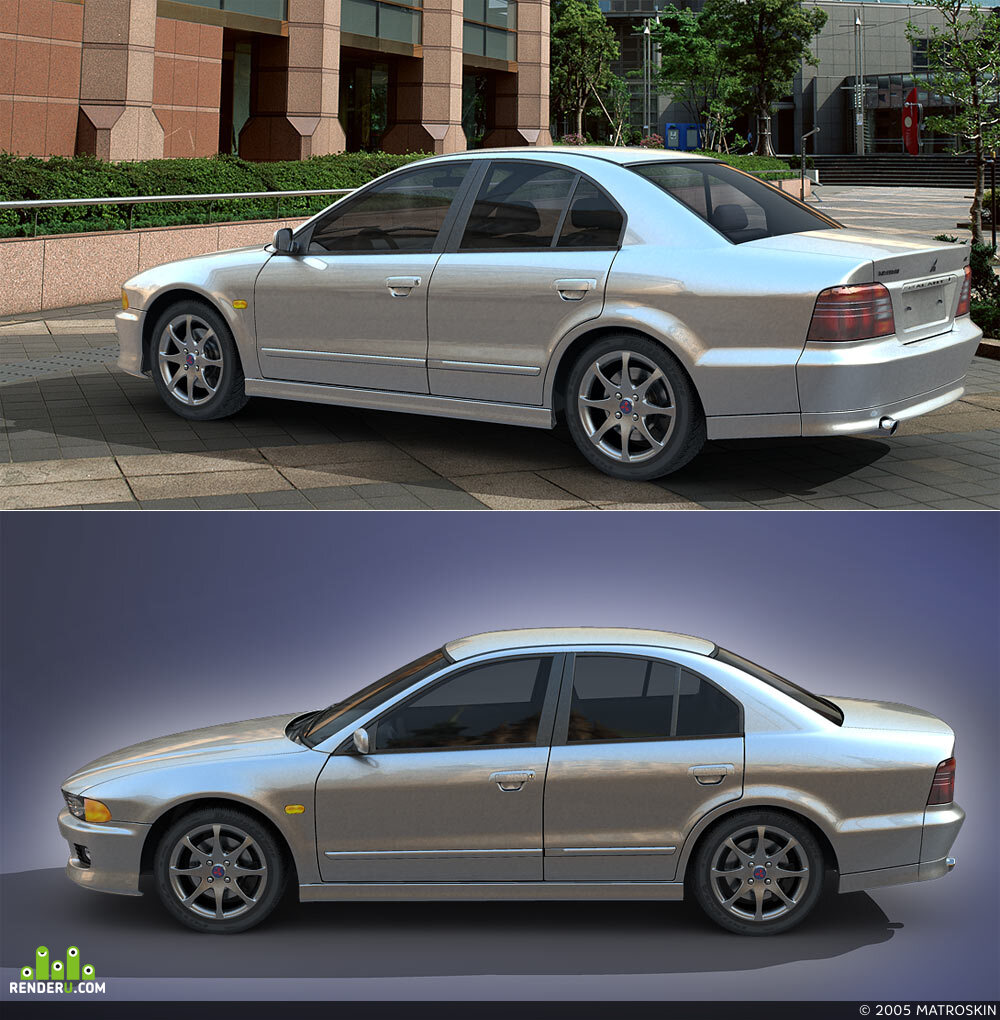 preview Mitsubishi Galant
