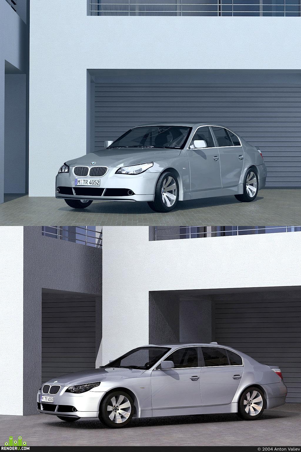 preview BMW 5sedan 2003
