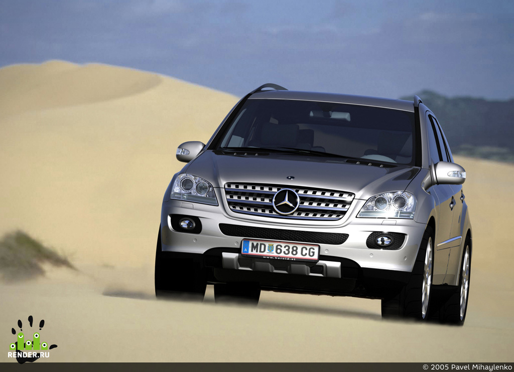preview Mercedes ML 350