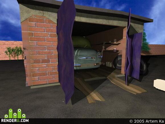 preview Zapor v garaje