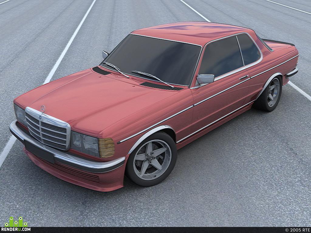 preview Mercedes-Benz 280CE