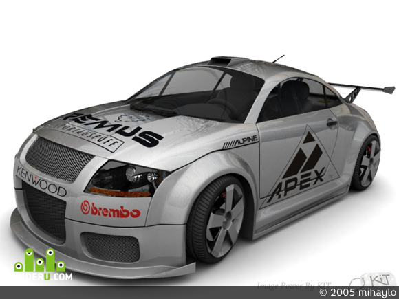 preview Tuning Audi TT ot Kit