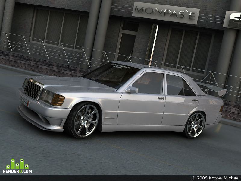preview Mercedes 190 Tuned