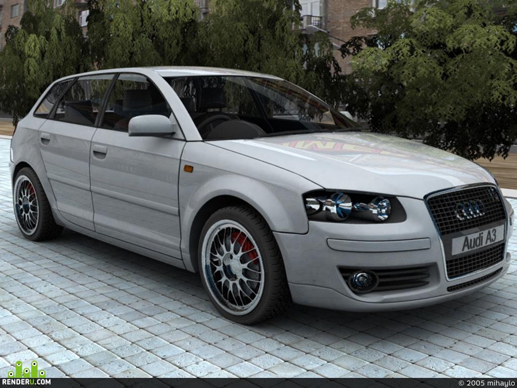 preview Audi A3 SportBack ot KIT