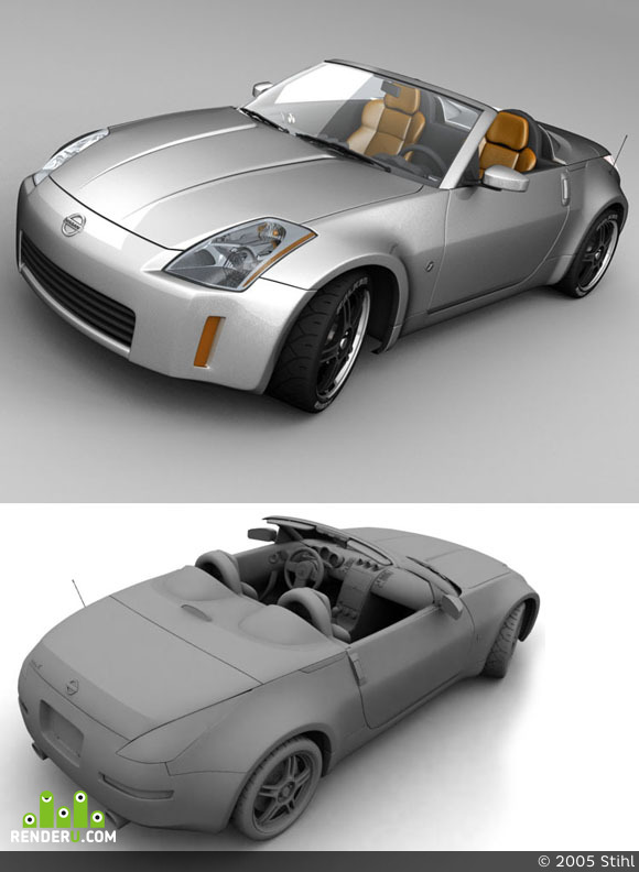 preview Nissan 350z Roadster