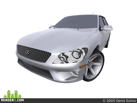preview Lexus ls 200