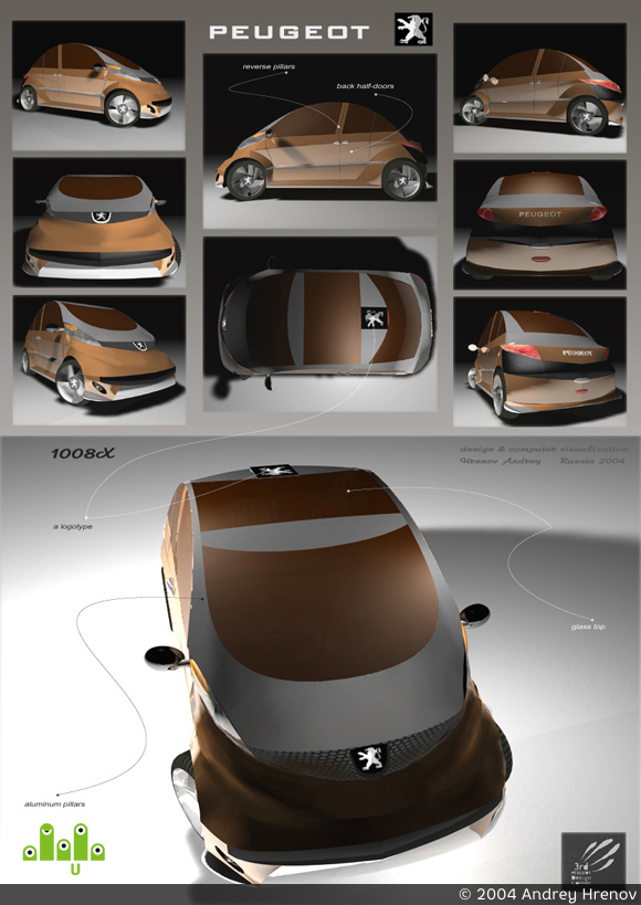 "preview Peugeot ""1008X"""