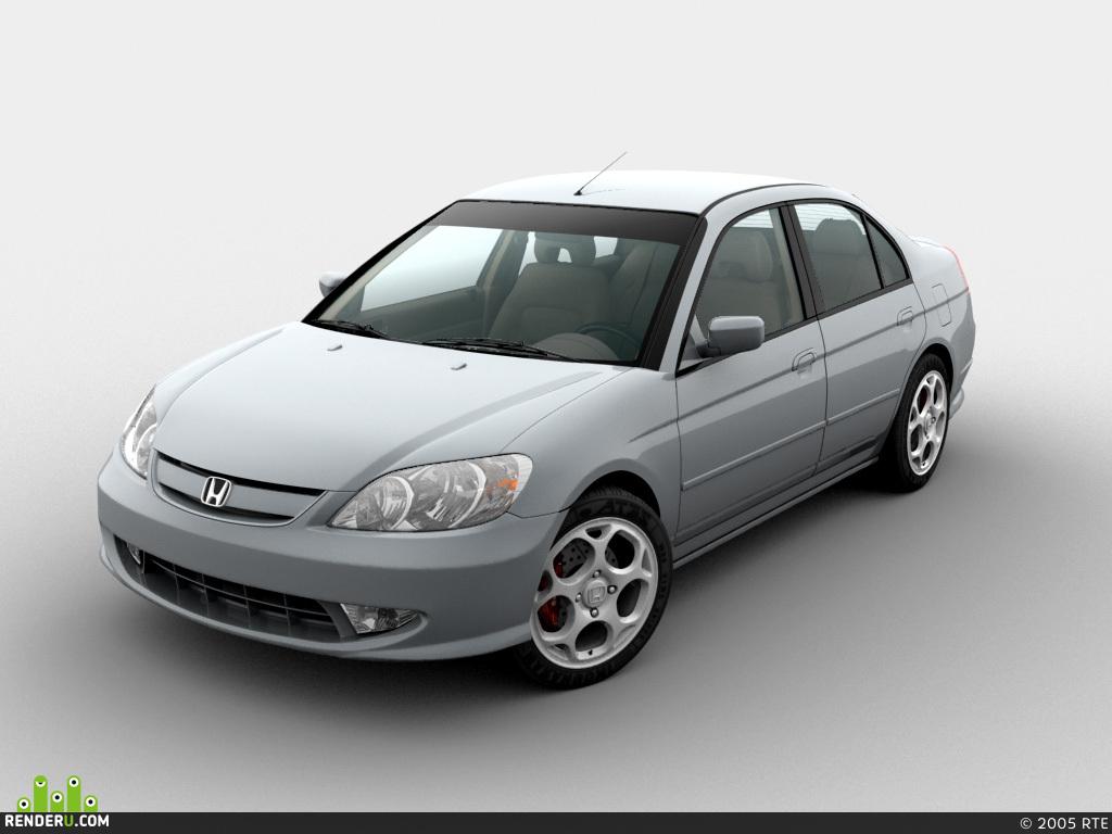 preview Honda Civic 2005
