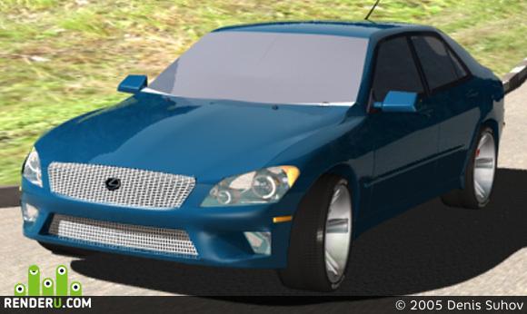 preview lexus ls200 (versiya 3)