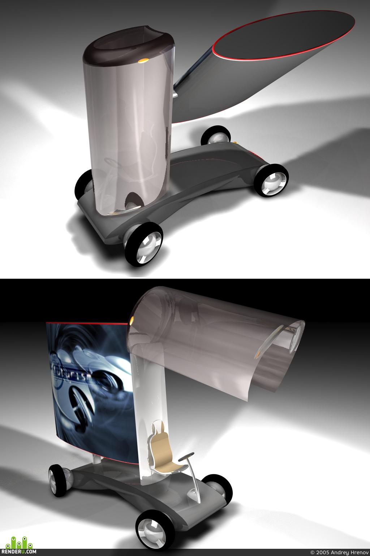 preview Dizayn-proekt gorodskogo avtomobilya reklamyi