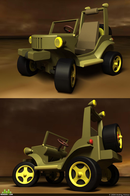 preview Proekt detskogo elektromobilya na baze GAZ-67
