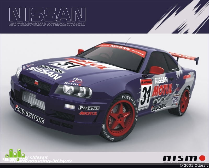 preview Nissan Skyline GTR-34 (Tuning)