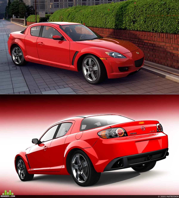 preview Mazda RX-8 2004