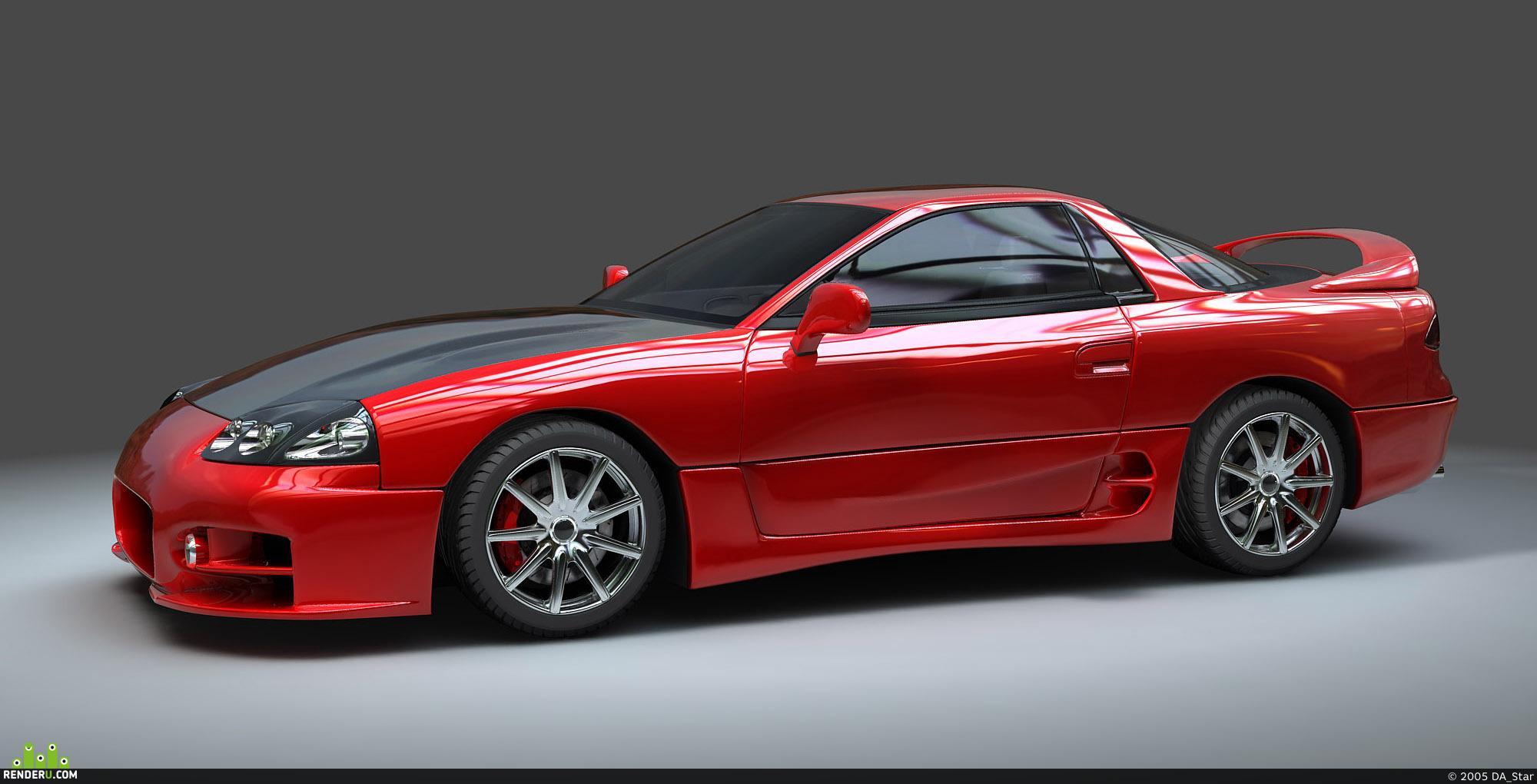 preview Mitsubishi 3000GT